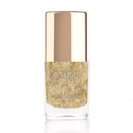 Federico Mahora - Nail Lacquer Gel Finish Sparkling Gold