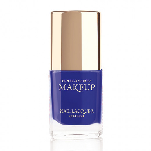 Federico Mahora - Nail Lacquer Gel Finish Majestic Cobalt 11ml