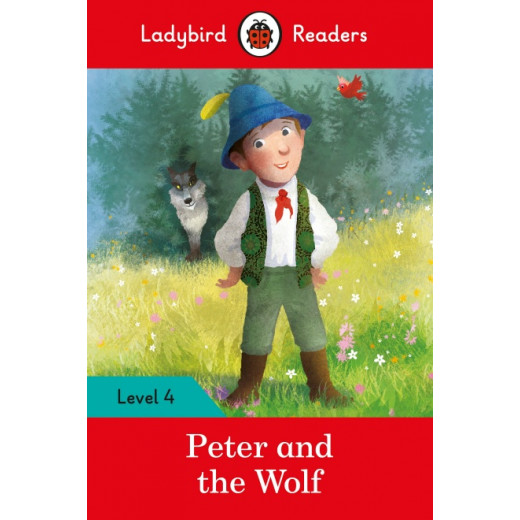 Ladybird Readers Level 4 : Peter and the Wolf SB