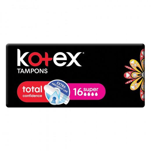 Kotex Tampons Super, 16 Pcs