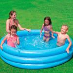 Intex Pool Inflatable Crystal Blue Vinyl 1.68 m x 38 cm
