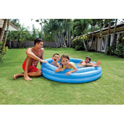 Crystal Blue Pool, 3-Ring, Ages 2+, 1.47mx33cm