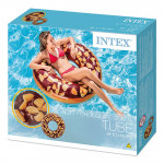 Intex - Nutty Chocolate Donut Tube, Ages 9+ , 1.14 m