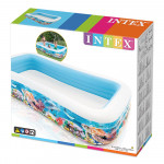 Intex - Inflatable Pool, 305 x 183 x 56 cm, 999 L, Tropical design