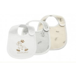 Colorland - (9) Baby Bibs 3 Pieces In One Pack