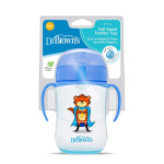 Dr Brown's Soft Spout Toddler Cup, 270 ml, Blue