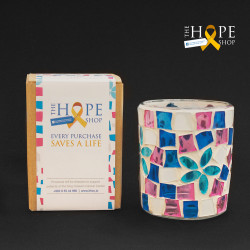 Hope Shop By KHCF - Colorful Candle Holder