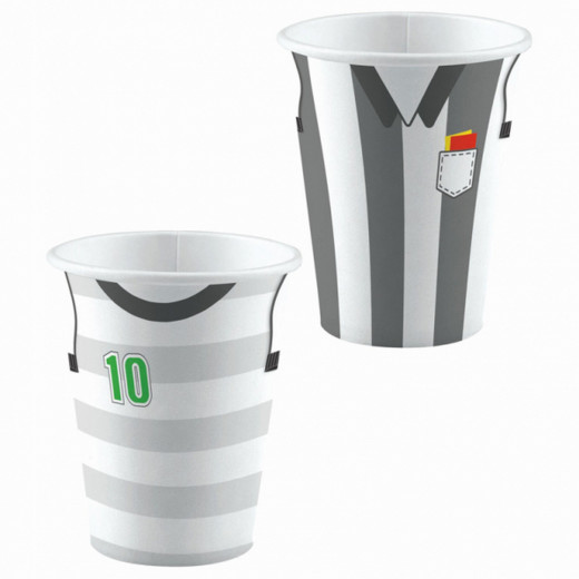 Amscan -  Birthday And Party Football Paper Cups X8 pieces