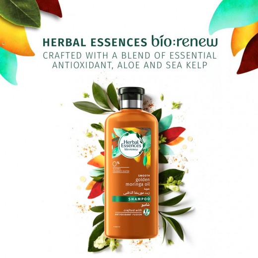 Herbal Essences - Mooth Golden Moringa Oil Shampoo