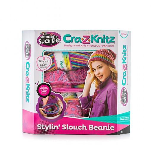 Cra-Z-Knitz Kit Knitting Hats Stylin Slouch Beanie