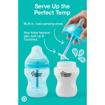 Tommee Tippee Advanced Anti-Colic Decorated Bottle X1, 150ml with Heat Sensing Tube