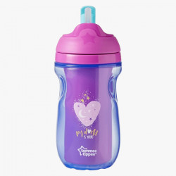 Tommee Tippee Insulated Straw Cup, Pink
