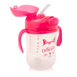 Dr. Brown's Baby's First Straw Cup w/ Handles, 270 ml, Pink