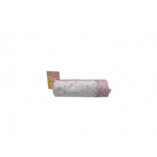 Hallmark Floral Pencil Case, Pink