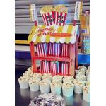 Talking Tables Street Stalls Mini Card Hot Dog or Popcorn Stand