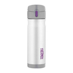 Thermos 470ml Vacuum Insulated Commuter Bottle, White