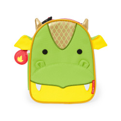 Skip Hop Zoo Lunchie Insulated Kids Lunch Bag, Dragon