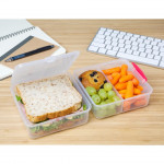 Sistema Lunch Cube To Go, 1.4 Litre - Pink