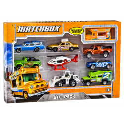 Hot Wheels Matchbox  9-Car Gift Pack