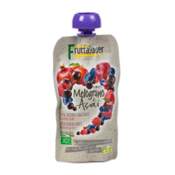 Natura Nuova Organic Fruit Puree, Berries and Acai 100 gram