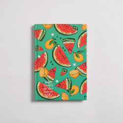 Watermelon Notebook Hardcover A5 Size