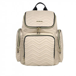 Colorland The Onyx Diaper Bag, Beige