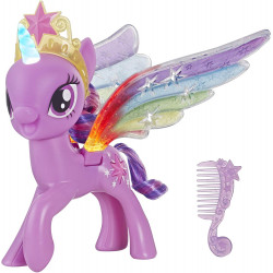 My Little Pony Rainbow Wings Twilight Sparkle, Pony Figure with Lights and Moving Wings