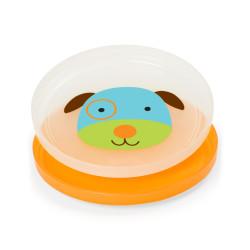طبق الطعام زوو ضد الانزلاق بتصميم كلب من سكيب هوب