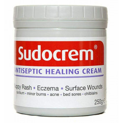 Sudocrem Antiseptic Healing Cream For Nappy Rash, Eczema, Burns and more - 250g