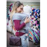 Chicco Baby Wrap Carrier 'sweet Hug' Star Grey