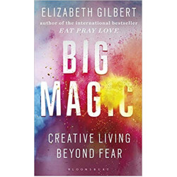 Big Magic: Creative Living Beyond Fear Paperback,288 pages