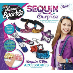 Cra-Z-Art Shimmer 'n Sparkle Sequin Surprise Accessories Kit