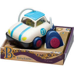 B. toys – Rally Ripster – One Button Remote Control Light-Up Toy Car for Babies & Toddlers