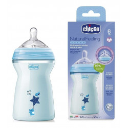 Chicco Biberon Baby Bottle for Above 6 Months Baby - 330 ml
