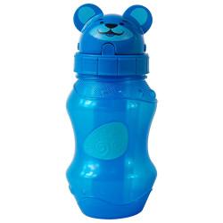 Cool Gear Zooey Flip Top Water Bottle,Blue 0.4 L