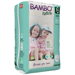 Bambo Nature Pants Size 6 (18+ Kg), 18 diapers
