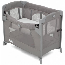 Joie Kubbie Sleep Playard- Foggy Gray