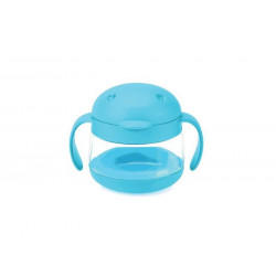 Ubbi Snack Container, Blue