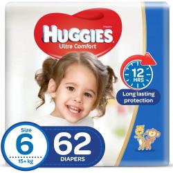 Huggies Mega Diapers Size (6) 62X1