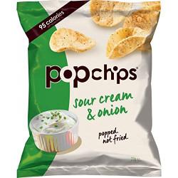 POP Chips Sour Cream & Onion Potato 23g