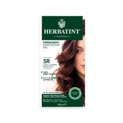 صبغة الشعر العشبي الدائم 5 أر كستنائي نحاسي خفيف من هيرباتينت