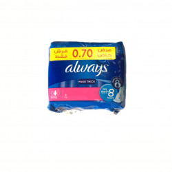 Always Maxi Thick, 8 Pads