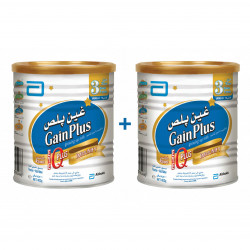 Abbott Similac Gain Plus Stage 3 - 400 g ( 2 Tins Free Delivery Offer)