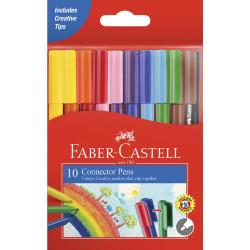Faber Castell Connector Pen 10 Colors