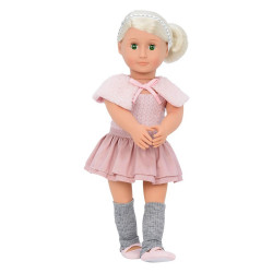 Our Generation Alexa-Doll with Ballet Dress and Capelet Doll, 18""