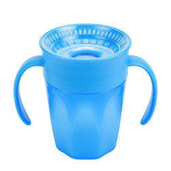Dr. Brown's Cheers 360 Spoutless Training Cup, 6m+, 200ml, Blue