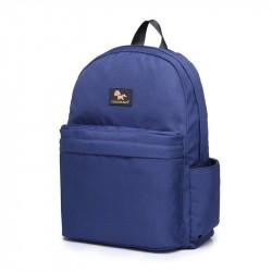 حقيبة حفاضات للأمهات للاستخدام اليومي من كولورلاند (1 بساط تغيير ، أزرق كحلي)