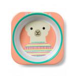 Skip Hop Baby Melamine Plate & Bowl Set, Llama