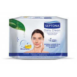 Septona Cosmetic Wipes with Micellaire & Vitamin Ε