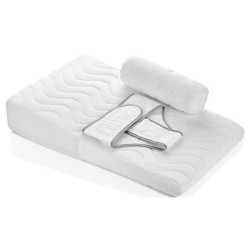 BabyJem Baby Reflux Pillow, White